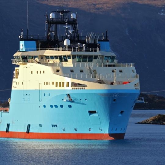 AK 35 LE2 on the Maersk Master anchor handler