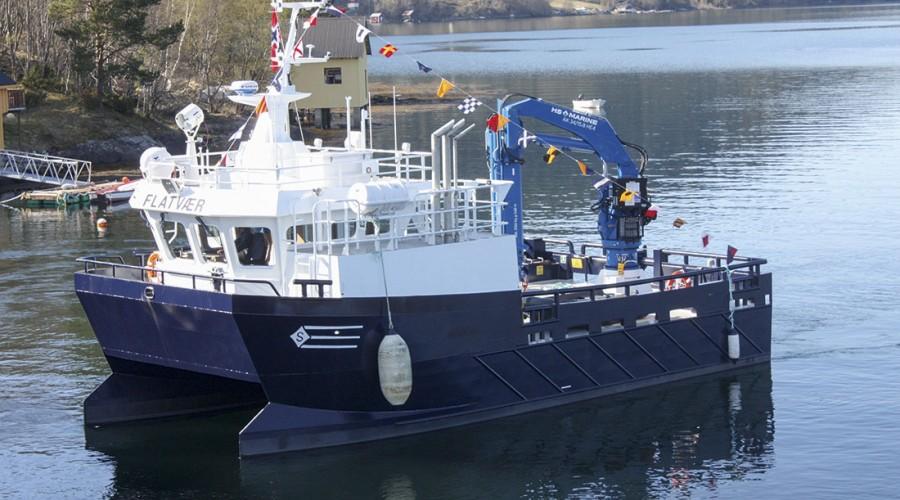 HS.MARINE on the Auvær