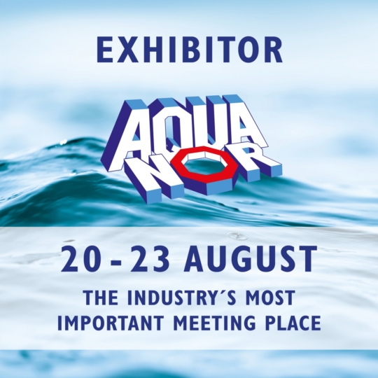Come and visit us at Aqua Nor 2019